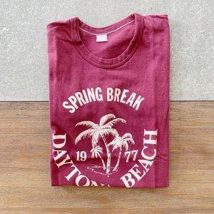 VINTAGE Spring Break Daytona Beach Tee size small